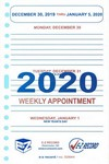 "D2644 - Dated Weekly Refill - 8"" x 5"" Click here for years available"